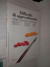 DIFFICOLTA DI APPRENDIMENTO Volume 3 Erickson 1998 libro scuola manuale corso di