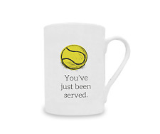 You've Just Been Served Mug Funny Design Tennis Gift 10oz China Coffee Cup Tea