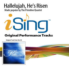 The Primitive Quartet - Hallelujah, He's Risen - Accompaniment Track