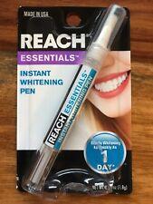 REACH Essentials White Teeth Professional Whitening Zahnaufheller Zahnweiß Stift