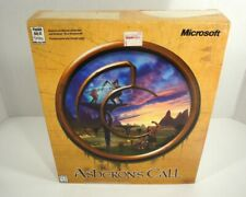 1999 Asheron's Call Pc Cd-Rom Big Box Game Complete