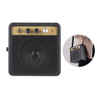 Portable Desktop Guitar Amplifier 5W Electric Guitar Modeling Amp Speaker C4Q3