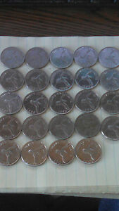 BERMUDA CIRCULATED QUARTER COLLECTION 1970-2008  24 DIFFERENT DATES
