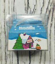 Dunkin Donuts Ornament Munchkin Box Xmas Miniature 2003 Donut Holes - new