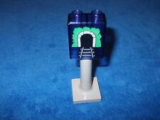 Lego Duplo 1 x señales de tráfico transparente Violette 1x2x2 impreso túnel 4066