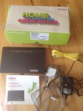 TalkTalk HG633 Huawei Router, MicroFilter, Ethernet & Broadband Cable. Power Sup