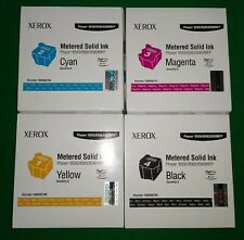 Xerox 108R00706/7/8/9 Metered Solid Ink (for 8550/8560/8560MFP) *New/Sealed*