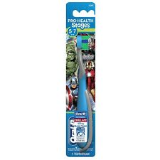 Oral-B Pro-Health Stages Marvel Avengers Soft Toothbrush 1 ea