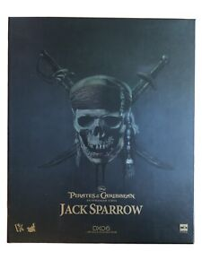 HOT TOYS 1/6 DX06 JACK SPARROW PIRATES OF CARIBBEAN SPECIAL EDITION LIKE NEW