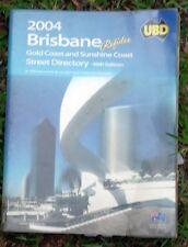 BRISBANE  UBD STREET DIRECTORY (REFIDEX) 48tH  EDITION 2004. vgc