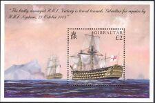 Gibraltar 2005 Trafalgar/HMS Victory/Ships/Navy/Military/Battles 1v m/s (s662q)
