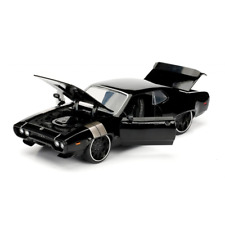 Fast and Furious 8 Doms Plymouth GTX Black 1:24 Scale Jada