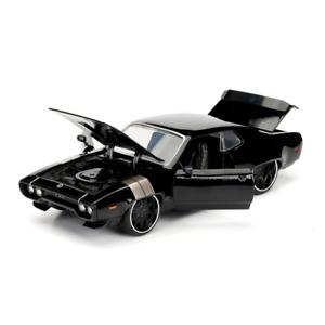 Fast And Furious 8 Doms Plymouth GTX Noir 1:24 Echelle Jada