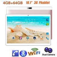 "Bluetooth 10.1"" Inch Android 7.0 Tablet PC Quad-core 64GB Wifi Dual SIM Phablet"