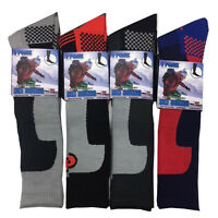 MENS SKI SOCKS HIGH PERFORMANCE THERMAL SOFT SNOW HIKING WINTER LONG 2.0 TOG NEW