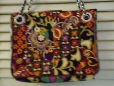 Vera Bradley Chain Handbag in Suzani, Patchwork, Shoulder Bag, EUC, BEAUTIFUL!