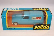 Solido 42 Renault 4 Fourgonette GAZ de France 1:43 perfect mint in box