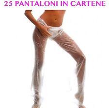 PANTALONE IN CARTENE 25 Pz MONOUSO PROFESSIONALE PER TRATTAMENTI FANGHI E ALGHE