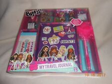 NEW BRATZ MY TRAVEL JOURNAL RECORD MEMORIES THOUGHTS DREAMS puffy pen Christmas