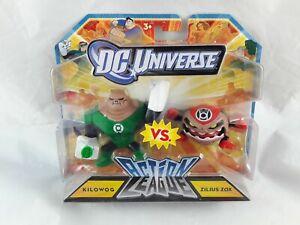 DC Universe Action League Kilowog Vs Zilius Zox Figures