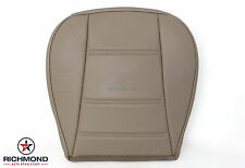 2000 2001 2002 2003 Ford Mustang V6 -Driver Side Bottom Leather Seat Cover Tan
