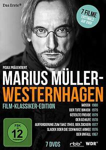 7 Filme mit Marius Müller-Westernhagen u.a Mosch, Der Tote bin ich, Der Unfall