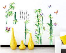 Green bamboo Home bedroom Decor Removable Wall Sticker Decal Decoration