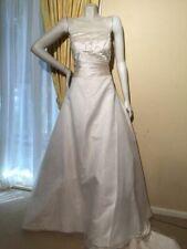 SALE!!! 90% off Royal Embroidery Wedding dress size 14 Pallas $5000 Luxury Ivory