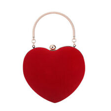 Lady Heart Evening Shaped Shoulder Bag Tote Purse Handbag Messenger Bags