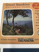 Great Smokies National Park View Master Pictures Vacationland Series 3-Reel Set