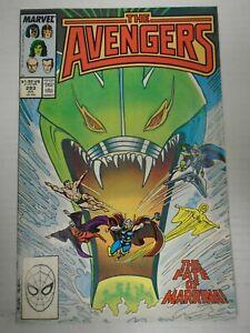 Marvel AVENGERS #293 (1988) Marinna, Dr. Druid, Kang, Ravonna, Black Knight