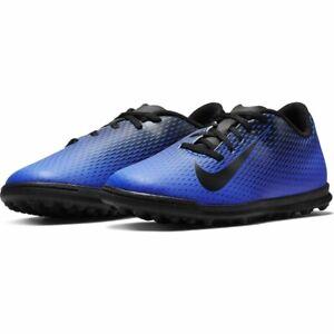 Nike Bravata Blue Black Football Astro Turf Football Trainers Boots UK Size 3.5