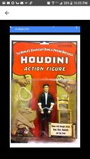 NEW HARRY HOUDINI ACCOUTREMENTS ACTION FIGURE SHACKLES, ROPE, STRAIGHT JACKET