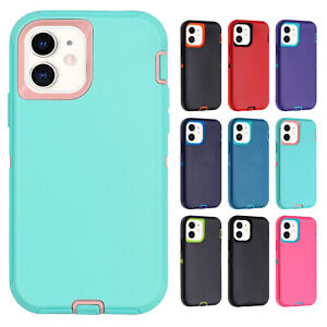 For iPhone 12 Pro Max 11 XS XR 7 8 SE2 Shockproof TPU Bumper Matte Case Cover