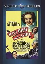100 Men and a Girl (DVD, 2015) Orchestra Musicians Musical    *Like NEW*  A7