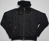 Nike Air Bomber Hoodie - XL UK Size 18 - Black & Gold - Womens - Jacket Jumper
