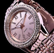 Excellanc Uhr Damen Armband Uhr Rose Gold Farben Strass 2R0