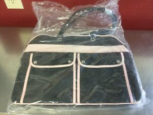 MARY KAY~~Travel Tote~~Large~~ Black/Pink Purse Bag~ New In Plastic
