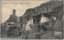 60517  - CARTOLINA d'Epoca - L'AQUILA provincia :  Pescina TERREMOTO