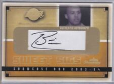 BRIAN COOK 2003-2004 Fleer Showcase Autographed Card S/N'd 617/800 Card #SG-BC