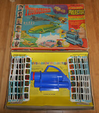 Vintage Thunderbirds Chad Valley donner un spectacle Projecteur Set RARE BOXED (408)