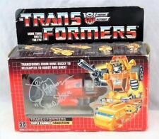 Transformers Original G1 1986 Sandstorm Complete w/ Box Bubble Autographed