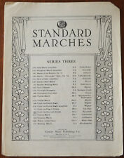 Under The Stars And Stripes, March-Two-Step by T. Roosevelt – Pub.1930
