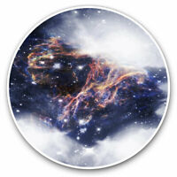 2 x Vinyl Stickers 10cm - Abstract Space Nebula Galaxy Cool Gift #2372