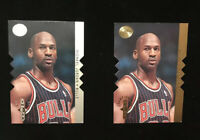 Jordan 95 Sp Championship #s16 Die Cut ( Silver And Gold )  2 Card Lot