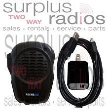 Pryme BTH-600 Bluetooth Wireless PTT Speaker Mic Icom Vertex Motorola Hytera