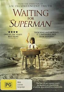 Waiting For Superman (DVD, 2011, R4) - Used Good Condition -
