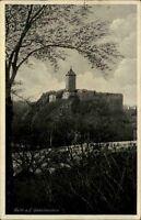 Halle an der Saale alte Ansichtskarte ~1930/40 Blick auf Burg Giebichenstein