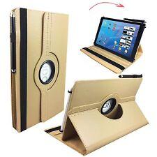 "Hülle Tasche für Fujitsu Stylistic Q550 Tablet Cover Etui 360° Beige 10.1"""