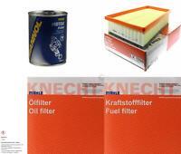 MAHLE / KNECHT Inspektionspaket Filter Set SCT Motor Flush Motorspülung 11609428